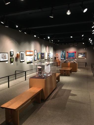 Bagian Museum di Information Center